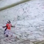 VIDEO: C.J. Anderson takes pitch 48 yards for TD in OT to beat undefeated Patriots https://t.co/ISRx7ynESO https://t.co/YSTrM3Jx9m