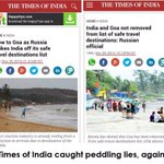 Another blatant attempt by Toilet paper of India (TOI) to discredit Modi Jis Gov falls flat. Shame 😡 https://t.co/44pT2TNRUI