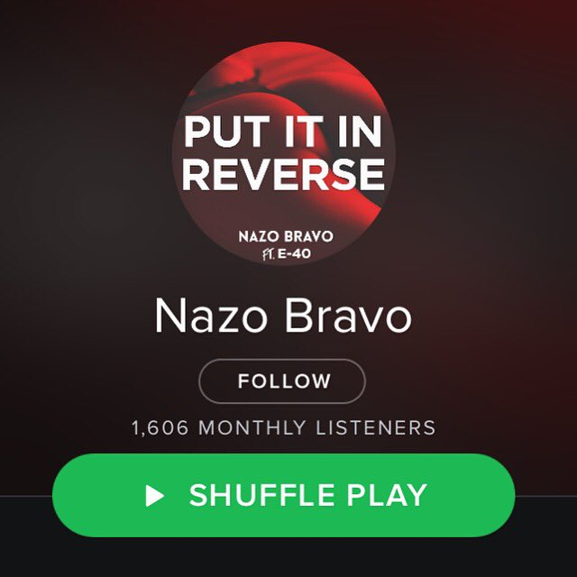 Follow me on #Spotify