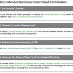 #ParisClimateConference: India's Intended Nationally Determined Contribution (INDC): https://t.co/5xgR8AS3Kz #COP21 https://t.co/VX6eUlDbGD