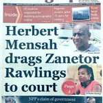 General Telegraph: Herbert Mensah drags Zanetor Rawlings to court #CitiCBS https://t.co/pcacLZdccz