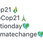 Thank you @twitter for the new emojis to mark the beginning of the UN Climate Conference in Paris. #COP21 https://t.co/8hlAyCioCc