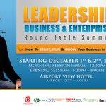 #ThisWeek - Leadership, Business & Enterprise Accra, Ghana #Ghana https://t.co/xVdUlljwEz cc @TEDxAccraGH https://t.co/BbDx0gmkM0