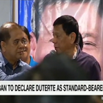 Watch it now on CNN Philippines: PDP-Laban to declare Duterte as standard-bearer   Live https://t.co/CaczwF9CtH https://t.co/FLHVyZhAkD