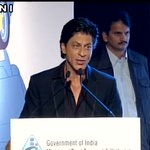 Shah Rukh Khan speaking at a road safety programme in Delhi. https://t.co/7LAzgeZo43