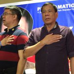 """Duterte: """"If God wants me to go there, I will arrive"""" #Halalan2016 https://t.co/X4YnbhwsYx"""