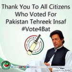 We thank all the residents of Islamabad who exercised their right to vote today & chose ideology over interests! https://t.co/W4wlMzSoIu
