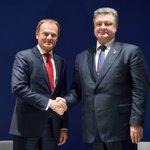 Порошенко і Туск погодилися, що санкції потрібно продовжити, поки РФ не виконає Мінськ https://t.co/VILuu7gbEa