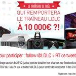 JEU #TraineauLDLC 🎅 10 000€ de cadeaux pour qui ?! Follow @LDLC + RT ! Voir les 🎁 => https://t.co/Uqp4Srju6Z #Noël https://t.co/iMKOdNFEPQ
