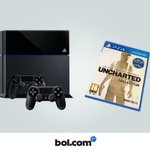 PlayStation4 + Uncharted + 2 controllers 389,- https://t.co/uXv0wONBCM Volg, RT & Win een exemplaar! #bolcybermonday https://t.co/HHhrECM5nS