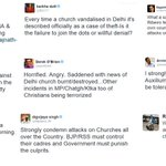 Massive Chest Thumping By Secular Sewer Mouths On Fake Church Attacks, Silence on JihaDidi #TMCWithISI Connections! https://t.co/uU4YIj48by