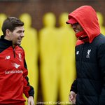 PHOTO: Steven Gerrard joined the #LFC squad in this mornings training session at Melwood https://t.co/ceLppJqjiJ