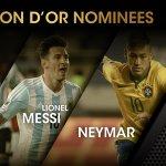Messi, Cristiano y Neymar, NOMINADOS al Balón de Oro 2015 #ElChiringuitoDeMega https://t.co/wS2ynbQsYa