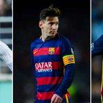 #ÚLTIMAHORA: Messi, Cristiano y Neymar, los tres finalistas al Balón de Oro https://t.co/9E4UnmVAmc https://t.co/PhprOAiGsQ