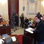 Representante artes escénicas en #Málaga intervienen en #PlenoMlg defendiendo dignidad laboral del sector https://t.co/9yQLfetOHN