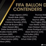 QUESTION: Its now less than an hour until we know the #BallondOr final 3. Who makes up your trio and why? https://t.co/UvvlGfVjli