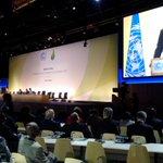 """""""Nuestras propuestas pueden resumirse en una frase mágica justicia ambiental"""" @MashiRafael #COP21 https://t.co/qpr7HteVOT"""