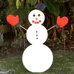 You know its the holidays when you see a snowman in #LosAngeles #mydayinla https://t.co/hIcBo226qW