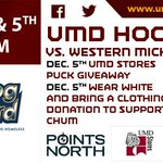 #BulldogBlizzard with the @umdpb this Saturday @UMDMensHockey bring a clothing item to donate to CHUM https://t.co/all3O3ckCk