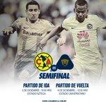 Te compartimos los horarios para nuestros duelos de semifinal en contra de @PumasMX #JuntosPorLaGloria https://t.co/Fivbv2vhBb