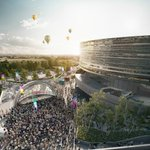 New details and images of the £93m Bristol Arena have been released: https://t.co/MqUz6Vke14 https://t.co/IsbPF1oe24