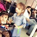 Cute Harleen Umar and Asmara Afridi in the stadium. https://t.co/ajvkISJRze
