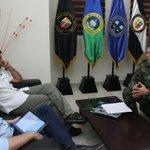 En reunión con la cúpula militar del ejército, ratifico mi compromiso con la seguridad de Bquilla y el Atlántico. https://t.co/Ir16F6oY0X