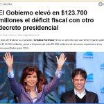 """Terrible el déficit fiscal durante la Gestión de Macri. Cómo? todavía no asumió? """"Dejo un país cómodo para la gente"""" https://t.co/E46lDjMCRa"""