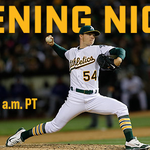 This morning at 9am: #Athletics Opening Night tickets go on sale, online only! #CyberMonday https://t.co/anI72NqspA https://t.co/pALpX6717l