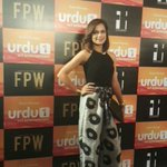 @hirahussain at red carpet of #FPW15 #Day3 https://t.co/jtB0XNdZ3x