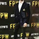 @Tabishoza at red carpet of #FPW15 #Day3 https://t.co/3vCqJQ15dl