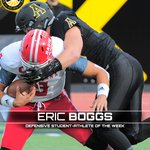 Career high 3 sacks, 6 tackles in win FB Defensive Student-Athlete of the Week Eric Boggs, @AppState_FB #FunBelt https://t.co/tKZkDTqlVM