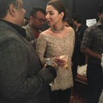 Mahira khan and Umer Sayeed at todays #FPW15 ! She looks gorgeous. https://t.co/XBoRRhdy5j