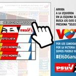 Que no quede duda el #6D gana Chávez. Vota por la patria, vota #PSUV. #AquíEl6DGanaChavez https://t.co/3drff7xDKN