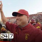 #USC announces Clay Helton hired as permanent head coach. --> https://t.co/NhVmOvjxCt https://t.co/PlVJnBWovg
