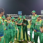 Congratulations Aamer Yamin on T20I debut #PAKvENG #DreamGreen https://t.co/HZxIdEO6JZ