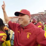 BREAKING: USC hires Clay Helton as permanent head coach after he went 5-2 in interim role: https://t.co/iFafVr1TqV https://t.co/RZv8KhIpg0