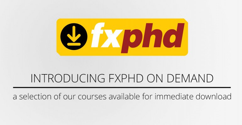 You can now buy some of our most popular courses @fxphd. Save 30% during our launch special https://t.co/4rfAtPWtee https://t.co/QIfZHhhct5