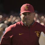 Official release from @USC_Athletics on the hiring of @USCCoachHelton: https://t.co/qROTRW8f7j https://t.co/KmwbwhJQmM