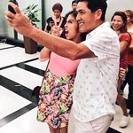 Bossing enjoying selfie with our cutie pie Menggay! KULET!!! @mainedcm ???? ctto #ALDUBDejaVuLove https://t.co/pyxS28Nrp7