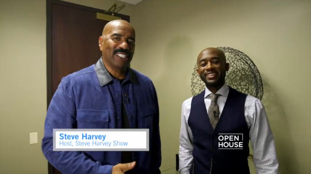 Where is @IAmSteveHarvey's home away from home? We stopped by his serene Chicago office: https://t.co/rc96Awqdso https://t.co/OptcB00MLD