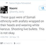 When its a real terror attack, they say its Somalis; when its a drill, they say its Somalis. #Strathmore https://t.co/P8tCJYqQMM