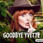 Next to leave the jungle is.......... @Yfielding! #ImACeleb https://t.co/nKniCapy1N