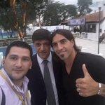 Inauguración en #Sol ........ y a quien lo encontré???? Aquí con Rodolfo Lopez ???? https://t.co/vOHB5mI477