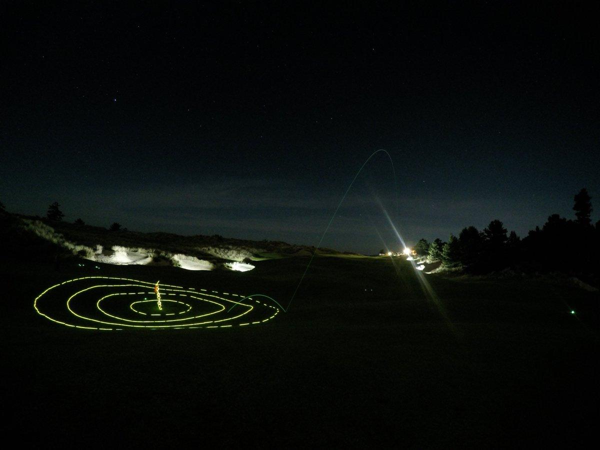 Bullseye Night KP on #BandonTrails No. 18! #goprogolf https://t.co/JnB3UBKAeA