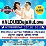 Our OHT for Today ---- #ALDUBDejaVuLove @officialaldub16 @ofctrendsetter https://t.co/1zzI8QyTXw