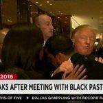Donald Trumps secret meeting with black pastors as explained by Donald Trump https://t.co/JkOCR5H2tl https://t.co/iA9slZrUVJ