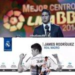 James Rodríguez conquista el premio a Mejor Centrocampista de la Liga BBVA 2014/15. Merecido. #genius https://t.co/76SWxRABCx