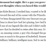 """Kevin Durant on the criticism of Kobe: """"You guys treated one of our legends like sh** and I didnt really like it"""" https://t.co/Nza1C0ey0E"""