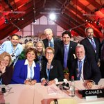 To fight climate change, we're all in this together. Canada is back. #COP21 https://t.co/atvk3L09C8